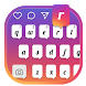 Keyboard Theme for Ins Color by Yum Keyboard Theme
