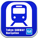 Tokyo Subway Navigation by 東京地下鉄株式会社
