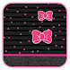 Pink Little Bow Live Wallpaper by Keyboard and HD Live Wallpapers