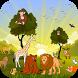 Animal Name Spelling Game by Leeway Infotech LLC