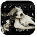 Skull Cattle Keyboard Theme by Keyboard Theme Factory