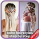 Boho Hairstyles Step By Step by PicPin Agency