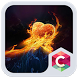 Burning Heart C Launcher Theme by Best Themes Workshop