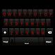 Shadow Red Keyboard Skin by Stealthychief Keyboard Themes
