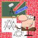 Alphabet Writing Learning ABC by Suparerk Tatiyapornpun