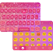 Glitter Heart Emoji Keyboard by Colorful Keyboard Theme Designer