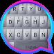 Silver Metal Theme&Emoji Keyboard by Emoji GIF Maker Fans