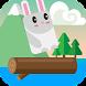 Jumpy Rabbit by CUB3