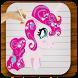 ♞ Draw Pony : Unicorn horse by Xtra Pro
