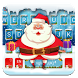 Cute Christmas Santa Keyboard Theme by Pink Theme Designer