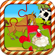 Farm Animals Puzzle For Kids by Pome games & apps