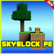 SkyBlock Pe Minecraft PE Map by Nevergreen soft