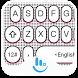 Pink Heart Dot Keyboard Theme by Sexy Free Emoji Keyboard Theme