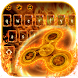 Fire Fidget Spinner Keyboard by The Best Android Themes