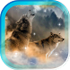 Wolf Song HD live wallpaper by AnastasiaApps