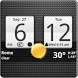Sense Analog Clock Widget by Factory Widgets