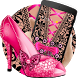 Pink Lace Bowknot Theme by Theme Lovely