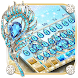 Peacock Diamond Feather Keyboard by HD Theme launcher Creator