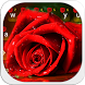 Red rose keyboard theme by Keyboard Design Paradise