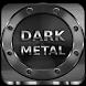 Dark Metal HD LauncherTheme by Mobile Premium Themes