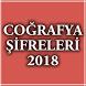 KPSS Coğrafya Şifreleri 2018 by BilgicApp