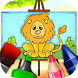 Animals Coloring Book for Kids by Abuzz