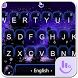 Live Purple Galaxy Keyboard Theme by Hot Keyboard Themes For Android