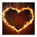 Fire Text Photo Frame Maker 2018 by Lilly Inc.