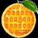 Fresh Orange Typewriter