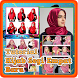 Tutorial Hijab Segi Empat Baru by MahiDev