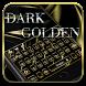 Dark Golden Black Keyboard by GpDev