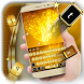 Pure Gold Keyboard Theme by Keyboard Theme Factory