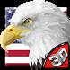3D American Eagle Soar Theme by Elegant Theme