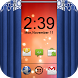 Curtain Lock Screen Theme3 by Onex Softech
