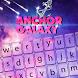 Anchor Galaxy Keyboard Theme by Echo Keyboard Theme