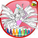 Coloring Game for Winx-Club by The Bee Coloring Studio
