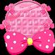 Pink Love Silk Keyboard by Designer Superman