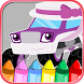 Coloring Pages Monsters Trucks by Theo Unity Game
