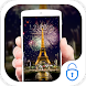 Eiffel Tower Night Paris Theme by Live.screen engineers