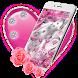 Crimson Hearts Diamond Theme by HD Themes and Wallpaper