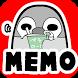 Pesoguin Memo Pad Full Penguin by peso.apps.pub.arts