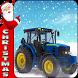 Christmas Farm Tractor Gift by Wall Street Studio