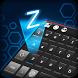 Dark Black Keyboard Theme by Keyboard Dreamer
