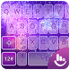 Live 3D Neon Purple Fireworks Keyboard Theme by Hot Keyboard Themes For Android