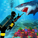 Scuba Diver Sniper Fury: Blue Whale Shark Hunter by ichor