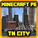 TN City map for Minecraft PE by Linda Mods