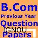Old Q.sets B.Com IGNOU Download Free pdf by omashishstudy