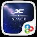 X Space GO Launcher Theme by ZT.art