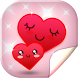 Cute Hearts Live Wallpaper HD by Super Cool Girl Games and Apps Free