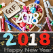 Happy New Year 2018 GIF Images Greetings Messages by GIF Developer
